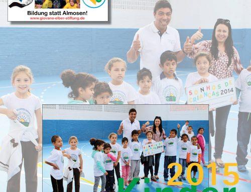 Jubiläumsbuch, Kinderkalender, Brasilienreise 2015 oder Patenschaften als Weihnachtsgeschenk