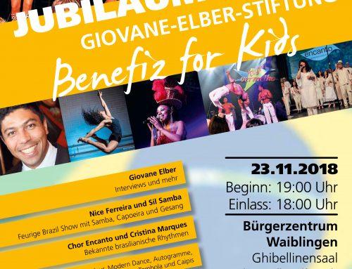 Jubiläumsgala am 23.11.2018 im Bürgerzentrum Waiblingen