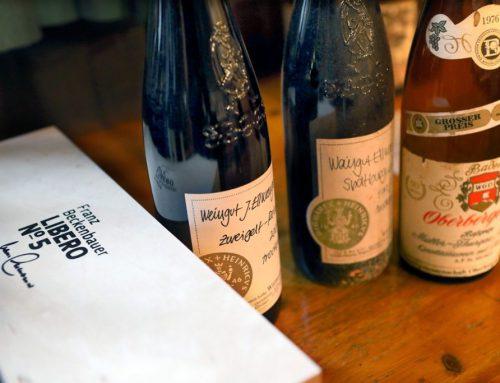 Nach dem Anpfiff: Sekt und Wein
